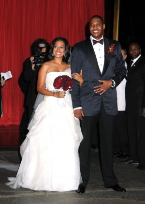 carmelo anthony and wife. Carmelo Anthony and wife