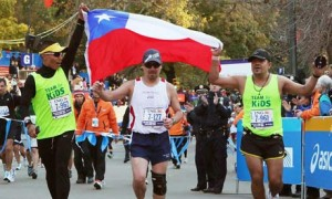 Celebrity half marathon runners jersey