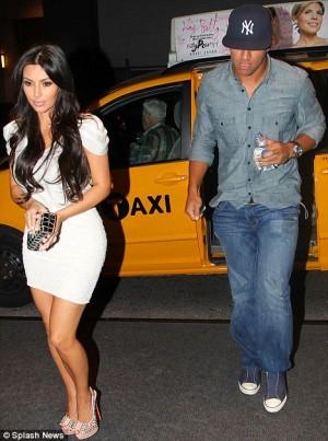 Miles Austin   Kardashian on Kim Kardashian And Miles Austin Have A Date Night In Nyc