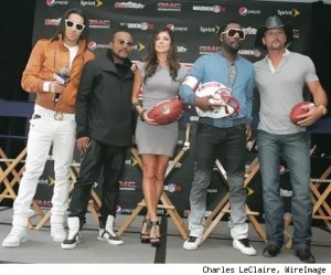Black Eyed Peas Superbowl