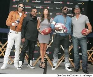 Black Eyed Peas Superbowl